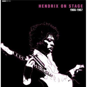 Hendrix on stage 66-67 - Single Vinilo