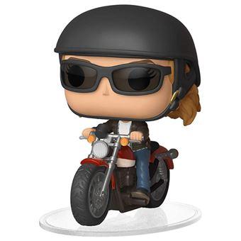 Figura Funko Marvel Capitana Marvel - Carol en moto