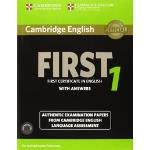 Cambridge English First 1 for Revised Exam from 2015