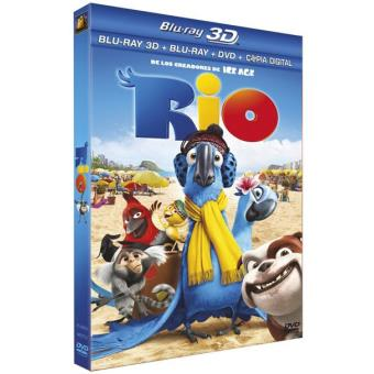 Río - Blu-Ray 3D + 2D + DVD + Copia digital