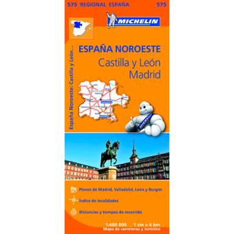 Castilla, León y Madrid. Mapa