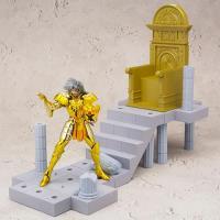 Figura Caballeros del Zodiaco Geminis + Santurario 10 cm