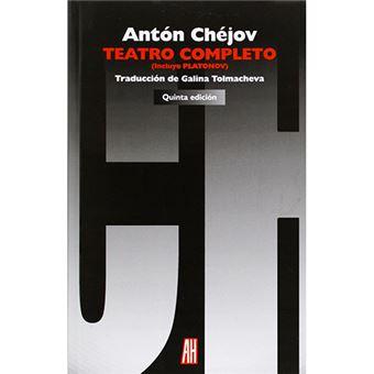 Teatro completo - Incluye Plátonov