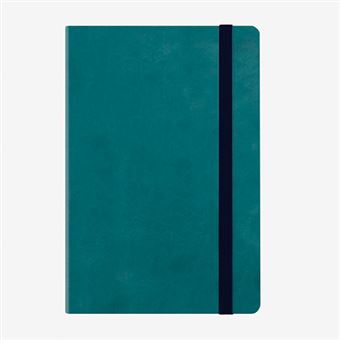 Agenda mediana 2020 Legami semana vista Notebook tapa dura azul petróleo