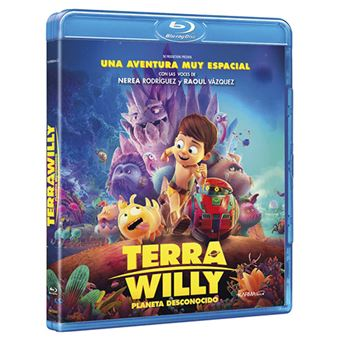 Terra Willy Planeta desconocido - Blu-Ray