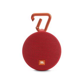 Altavoz Bluetooth Portátil Waterproof JBL clip 2 Rojo