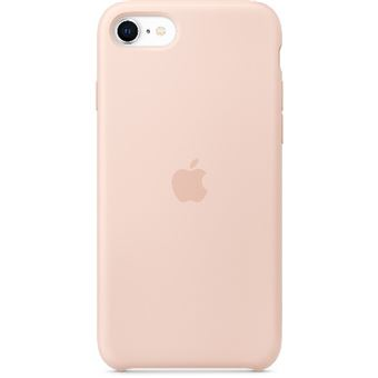 Funda de silicona Rosa Apple para iPhone SE (2ª Gen.)