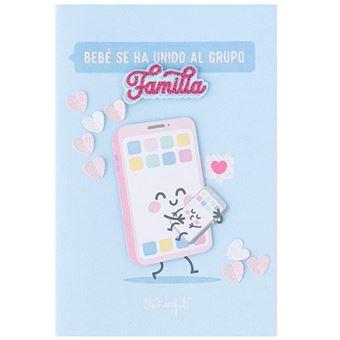 Mr Wonderful Postal – Bebé se ha unido al grupo familia