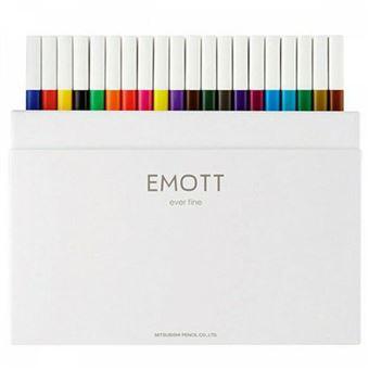 Estuche rotuladores Uni Emott 40 Colores