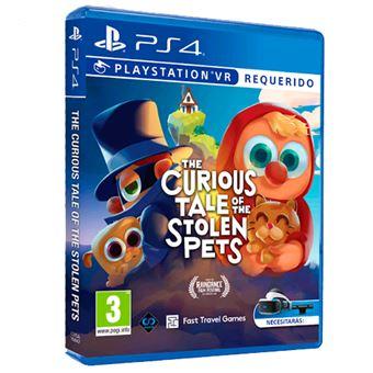 The Curious Tale Stolen Pets PS4 VR