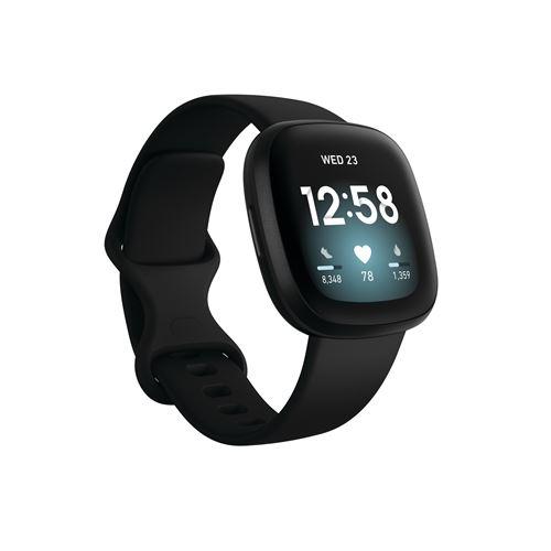 Smartband Fitbit Versa 3 Negro