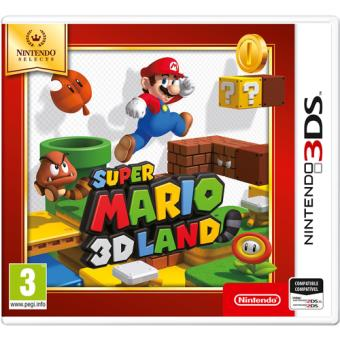 Selects Super Mario 3DLand Nintendo 3DS