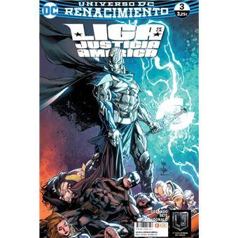 Liga de la Justicia de América núm. 03 (Renacimiento)