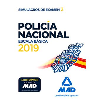 Policía Nacional Escala Básica - Simulacros de examen 2