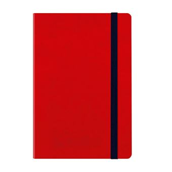 Agenda mediana 2020 Legami semana vista Notebook tapa dura roja