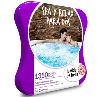 Caja Regalo La vida es bella - Spa y relax para dos