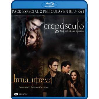 Pack Crepúsculo + Crepúsculo: Luna nueva - Blu-Ray