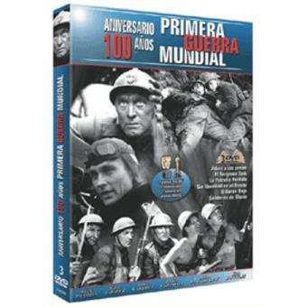 Pack 100 años Primera Guerra Mundial - DVD