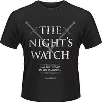 Juego de TronosCamiseta Juego de tronos The night watch S