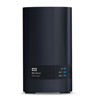 Disco duro externo NAS WD My Cloud  EX2 Ultra 0TB