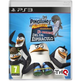 Pingüinos de Madagascar: El regreso del Dr. Espiráculo PS3