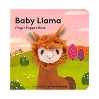 Baby Llama - Finger Puppet Book