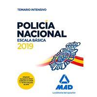 Policía Nacional - Escala Básica - Temario intensivo