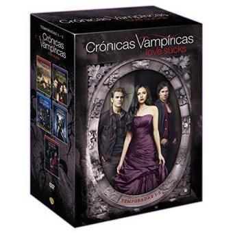 Crónicas VampíricasPack Crónicas Vampíricas (Temporadas 1-5) - DVD