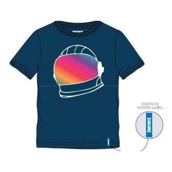 Camiseta Fortnite Helmet Azul - Talla M