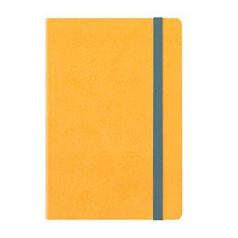 Agenda mediana 2020 Legami semana vista Notebook tapa dura amarilla