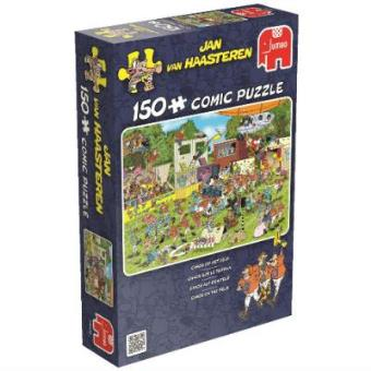 Puzzle Cómic Caos en campo (150pzs)