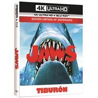 Tiburón  Ed Lenticular - UHD + Blu-ray + Libreto