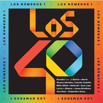 Los nº1 de Los 40 2019 - 2 CDs