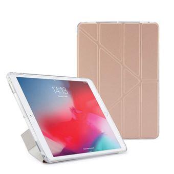 Funda con soporte Pipetto London Origami Oro Rosa para iPad Air/Pro 10,5''