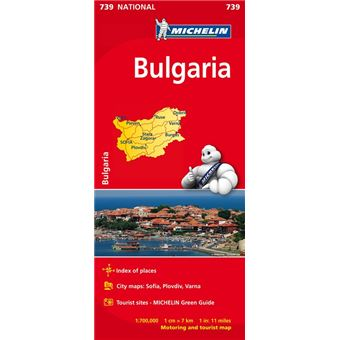 Mapa National Bulgaria