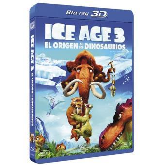 Ice Age 3: El origen de los dinosaurios - Blu-Ray + 3D
