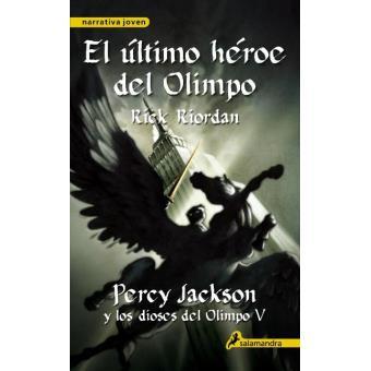 Percy Jackson y los dioses del Olimpo V. El último héroe