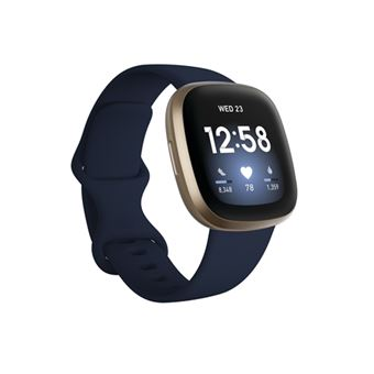 Smartband Fitbit Versa 3 Oro/Azul