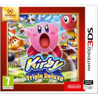 Selects Kirby Triple Deluxe Nintendo 3DS