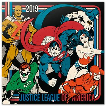 Calendario 2019 DC Originals