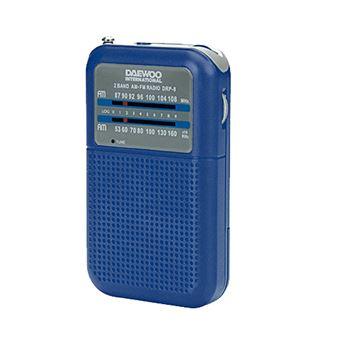 Radio AM/FM Daewoo DRP-08 Azul
