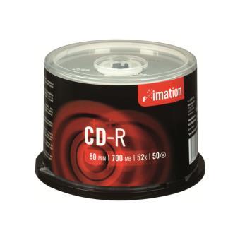 Imation Pack de 50 CD-R 700 MB