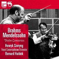 Brahms, Mendelssohn: Concierto violín