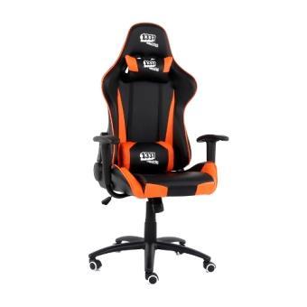 Silla Gaming 1337 Industries GC757SP/BO Negro - Naranja