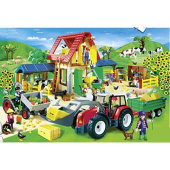 Puzzle playmobil la granja sinopsis y precio fnac for La granja de playmobil precio