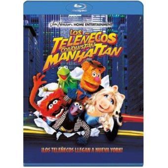 Los Teleñecos conquistan Manhattan - Blu-Ray