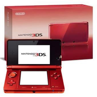 Nintendo 3DS Rojo Metálico