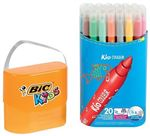 20 rotuladores para colorear Bic Kids