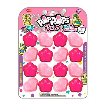 Pack Super Deluxe de 16 Pop Pops Pets Bizak