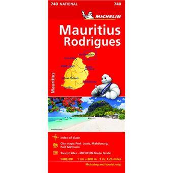 Mapa National Islas Mauricio